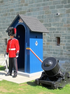 Guard - La Citadelle Quebec City, Canada